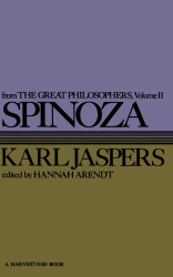 1957 (1974) Karl Jaspers: Spinoza (Great Philosophers)