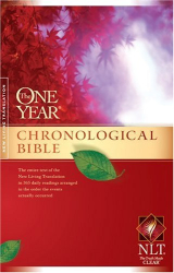 "<a href=""http://www.amazon.com/One-Year-Chronological-Bible-NLT/dp/1414314086/"" target=""blank"">One Year Chronological Bible</a>: <a href=""http://www.amazon.com/One-Year-Chronological-Bible-NLT/dp/1414314086/"" target=""blank"">NLT</a>"
