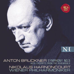 Bruckner: Symphony No. 5 (with Excerpts from the Rehearsals) [Hybrid SACD]: Nicolaus Harnoncourt - Orchestre Philharmonique de Vienne