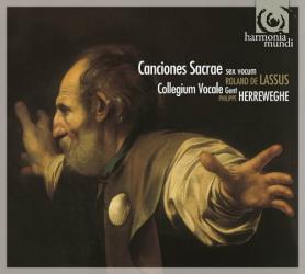 Roland Lassus: Cantiones Sacrae, Sex Vocum - Collegium Vocale Gent - Philippe Herreweghe: Roland Lassus: Cantiones Sacrae, Sex Vocum