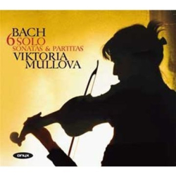 Bach JS - Sonates et prtitas pour violon seul: Viktoria Mullova, violon, label Onyx