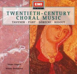 Vasari Singers - Twentieth Century Choral Music
