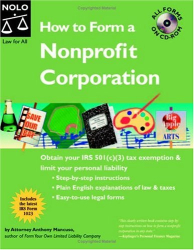 Anthony Mancuso: How To Form A Nonprofit Corporation 7th Edition