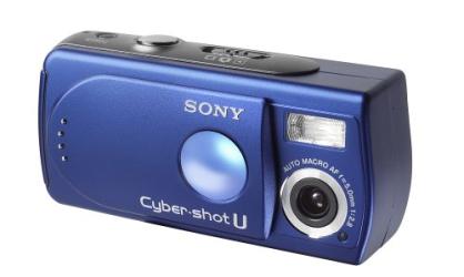 : Sony DSCU30/L Cybershot 2MP Digital Camera (Blue)