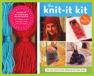 Jennifer Traig: The Knit-it Kit for Kids: 10 Fun Beginning Knitting Projects (Get Crafty)