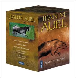 Jean M. Auel: Les Enfants de la Terre, coffret de 5 volumes : Le clan de l'ours des cavernes - La vallée des chevaux - Les chasseurs de mammouths - Le grand voyage - Le Retour d'Ayla