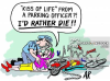 """""""'Kiss of life' from a parking officer?! I'd rather die!!"""""""