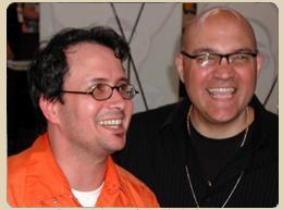 Chris Staros and Brett Warnock, Top Shelf founders