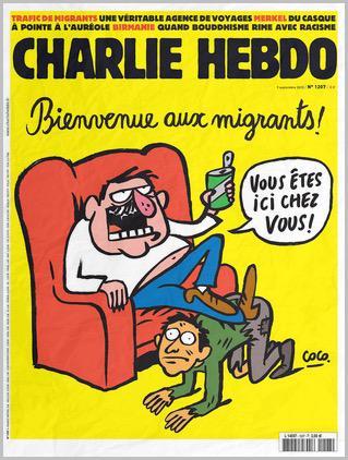 Charlie Hebdo cover 2015