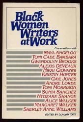 : Black Women Writers at Work