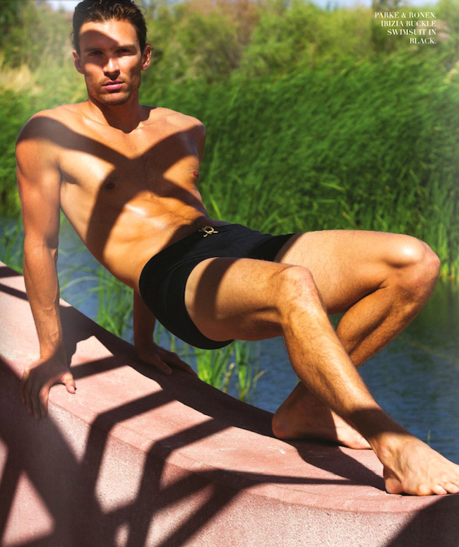 Male Sight Photography of Justin Tatum w/ MINT MGMT Captured by Ivan Avila for Harold Magazine
