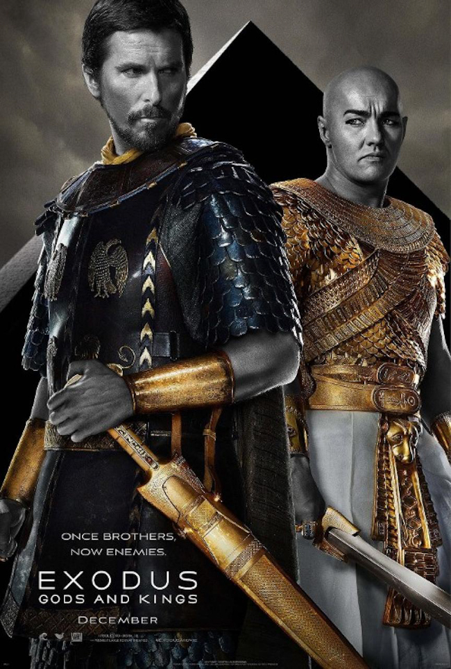 CINEMA SCAPE Exodus Gods and Kings by Ridley Scott. Starring Christian Bale & Joel Edgerton, Out December 12, 2014. www.imageamplified.com, Image Amplified