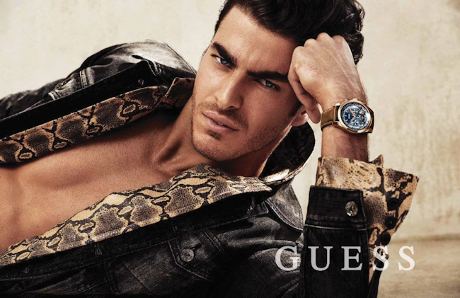CAMPAIGN Gui Fedrizzi for Guess Accessories Fall 2014 by Claudia & Falf Pulmaans. www.imageamplified.com, Image Amplified