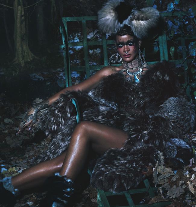 W MAGAZINE Rihanna by Mert & Marcus. Edward Enninful, September 2014, www.imageamplified.com, Image Amplified