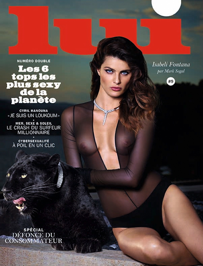 LUI MAGAZINE Isabeli Fontana by Mark Segal. Anna Joseph, August 2014, www.imageamplified.com, Image Amplified