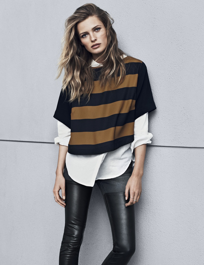 CAMPAIGN Edita Vilkeviciute for H&M Fall 2014. www.imageamplified.com, Image Amplified