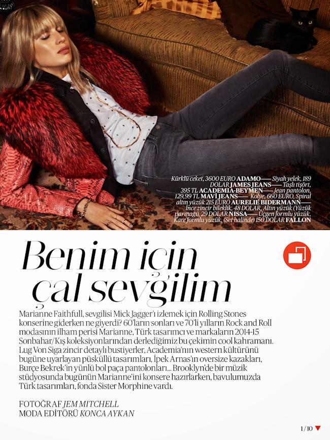 VOGUE TURKEY Sabrina Ioffreda by Jem Mitchell. Konca Aykan, August 2014, www.imageamplified.com, Image Amplified
