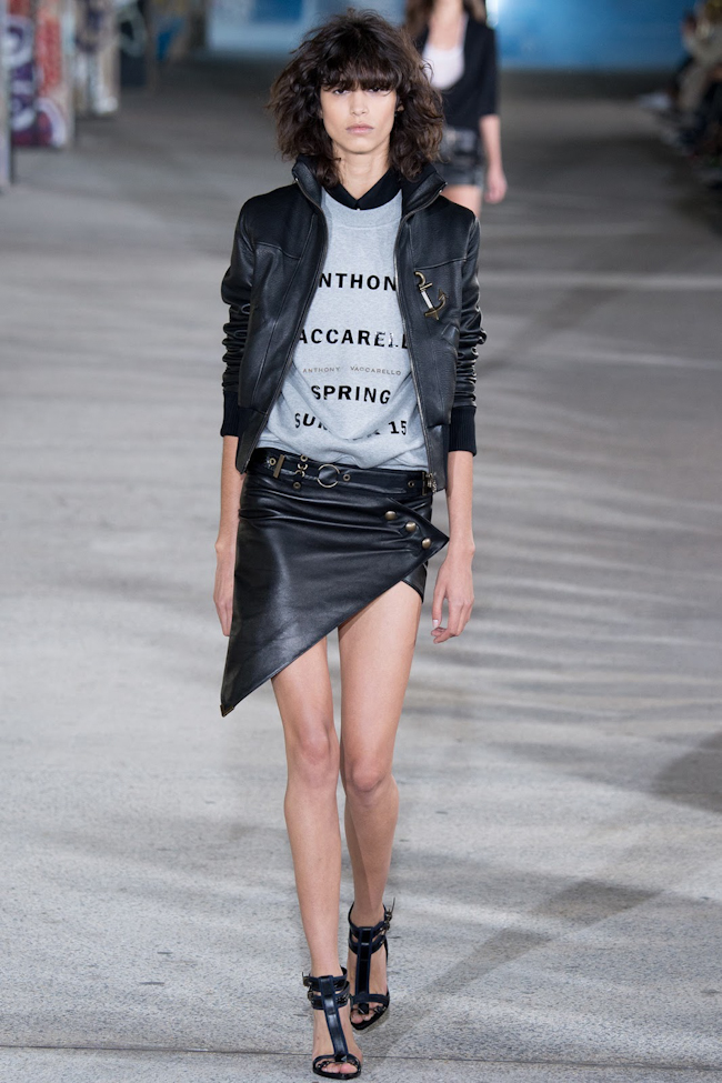 PARIS FASHION WEEK Anthony Vaccarello Spring 2015. www.imageamplified.com, Image Amplified