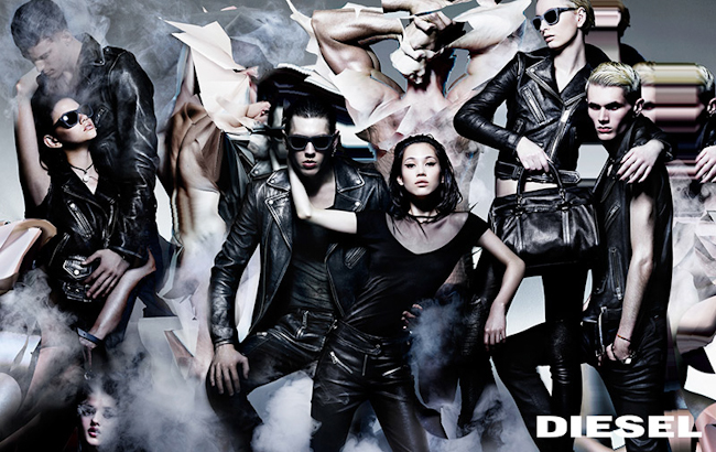 CAMPAIGN Diesel Fall 2014 by Nick Knight. Nicola Formichetti, www.imageamplified.com, Image Amplified
