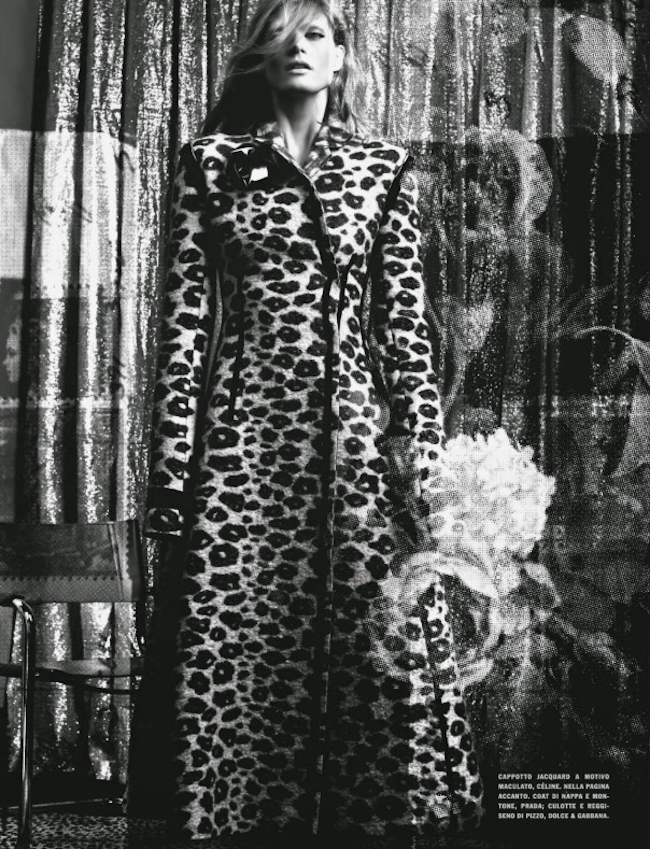 VOGUE ITALIA Malgosia Bela in The Story of M by Craig McDean. Jane How, October 2014, www.imageamplified.com, Image Amplified