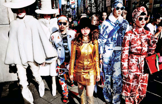 VOGUE JAPAN Chiharu Okunugi in Street Style Obsession by Mario Testino. Anna Dello Russo, November 2014, www.imageamplified.com, Image Amplified