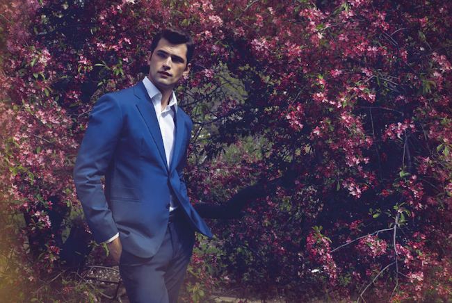 ESQUIRE HONG KONG Sean O'Pry in Bloom by Daniel Goh. Timonthy Reufauf, Fall 2014, www.imageamplified.com, Image Amplified