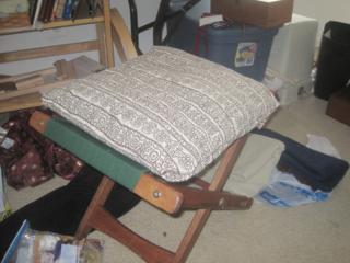 Pouch, book, pillow 012