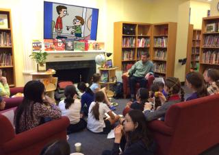 Ruben bolling library visit