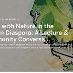 Living with Nature in the African Diaspora: A Lecture and Community Conversation at the Historic Hampton House featuring Dr. Edda Fields-Black