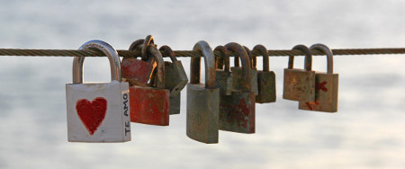 Photo of some locks that are not digital