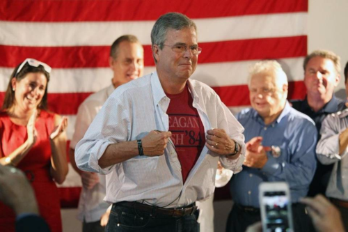 An appreciation: Jeb Bush seemed most comfortable in his