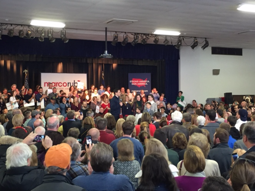 New Hampshire voters have the Marco Rubio-Chris Christie