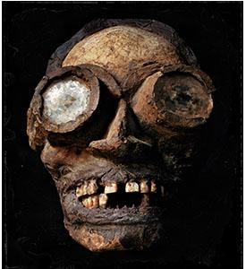 Death mask photo by Jack Burman