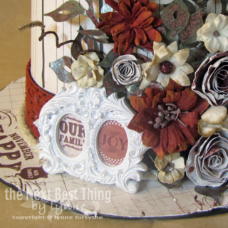 Thanksgiving Centerpiece by Lynne Forsythe