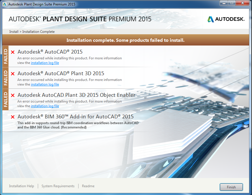 Object Enabler Causes Deployment Of Plant Design Suite 2015 To Fail Up And Ready
