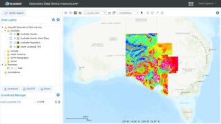 Geoscience Data Service