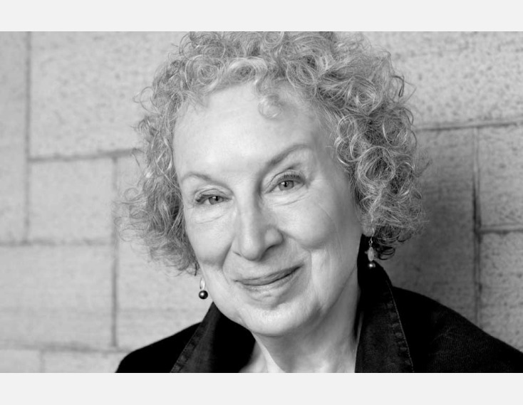 Author Margaret Atwood photographic portrait by Mark Raynes Roberts part of the ILLUMINATIONS: Portraits of Canadian Authors. Copyright Mark Raynes Roberts.