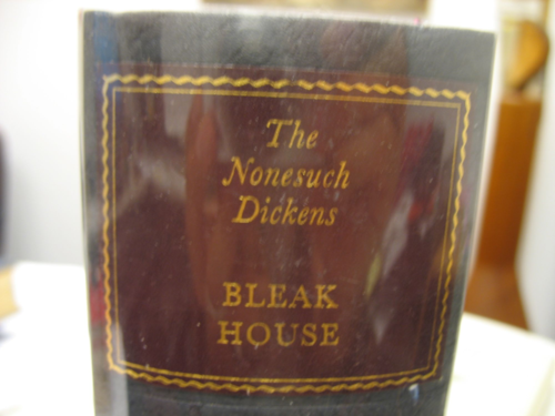 Bleak House by Charles Dickens reprint of Nonesuch Press Edition.