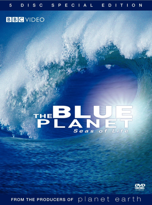 The blue planet seas of life DVD narrated by David Attenborough