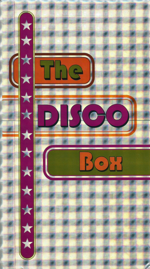 Disco Box Rhino Records CD boxed set only at the Toronto Reference Library Arts Dept on the 5th floor.