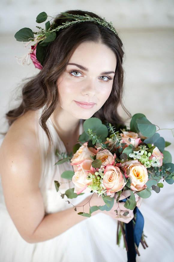 Vintage, Glamorous and Romantic Wedding Hair and Makeup ...
