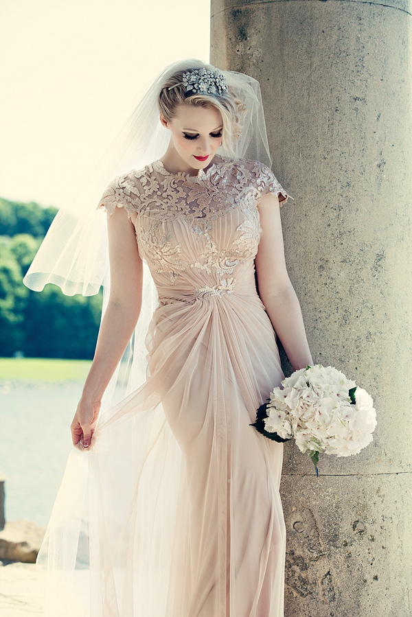 Love my dress the fashion sorority for Pink vintage wedding dress