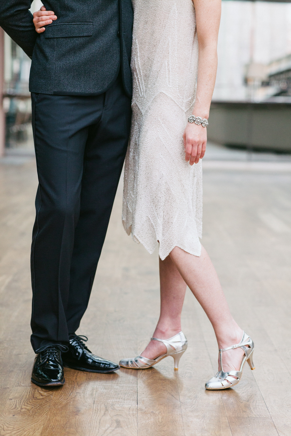 Rachel Simpson and Freed of London wedding shoes