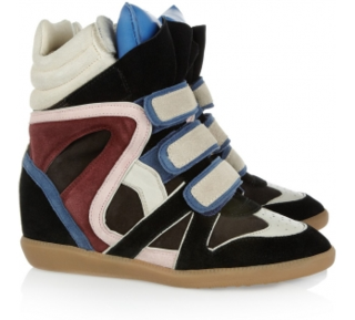 Isabel-marant-willow-leather-and-suede-sneakers