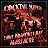 Cocktail Slippers - St. Valentine's Day Massacre