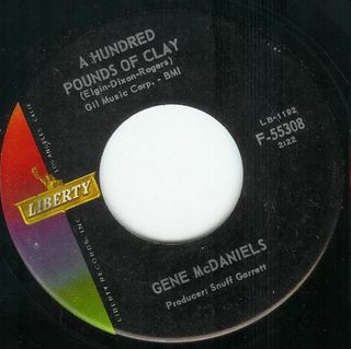 Gene McDaniels - A Hundred Pounds of Clay