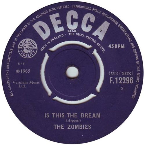 The Zombies - Is This The dream