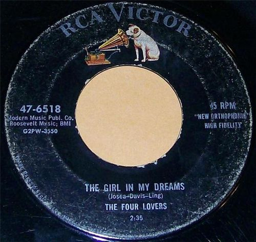 The Four Lovers - The Girl In My Dreams