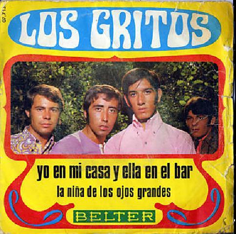 Los Gritos - Yo En Mi Casa Y Ella En El Bar