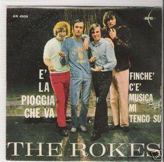 The Rokes - E' La Pioggia Che Va